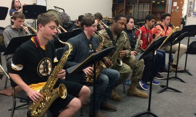 Army Jazzes Up Pinecrest High Band (The Pilot)